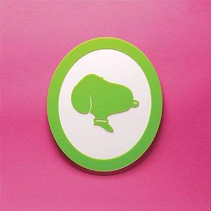 Quadro Snoopy - Verde