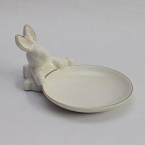 Mini prato com coelho (13cm)
