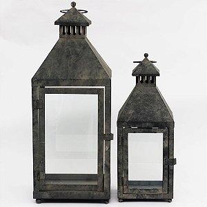 Lanternas de metal
