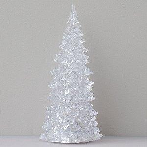 Árvore de Natal de acrílico - 16cm
