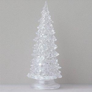 Árvore de Natal de acrílico - 19cm