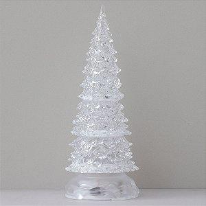 Árvore de Natal de acrílico - 25cm