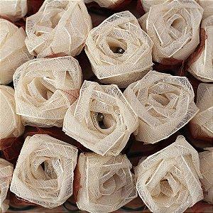 Cordão de Luz Flor Rosa
