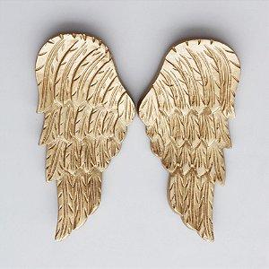 Asas de Anjos - dourada