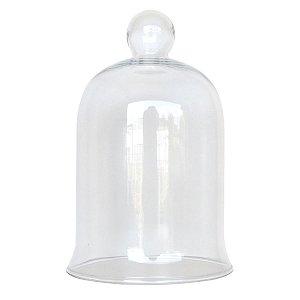 Redoma de vidro pequena