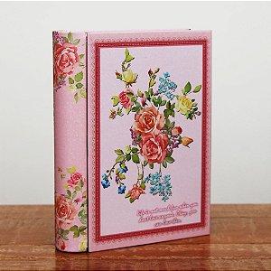 Caixa Livro - Rosa