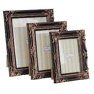 Porta-retratos rústico cobre