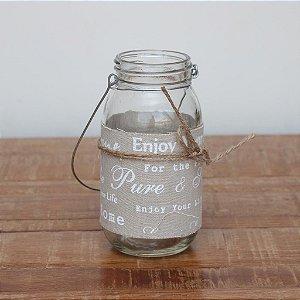 Vaso Decorativo de Vidro 5