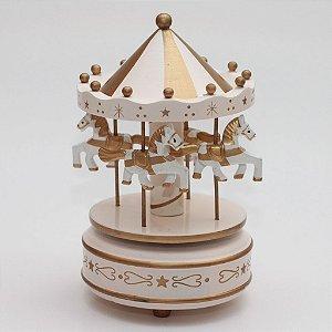 Carrossel Dourado - Pequeno
