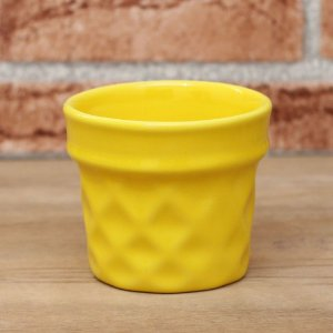 Vaso Casquinha Amarelo