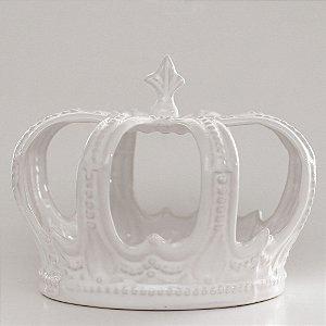 Coroa de Louça Branca