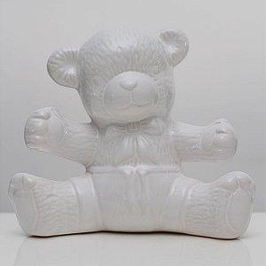 Urso de Louça Branco