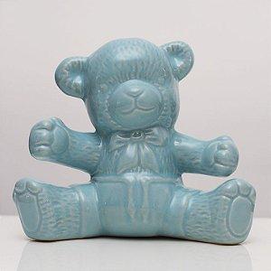 Urso de Louça Azul