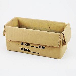 Vaso Caixa de Papelão Retangular