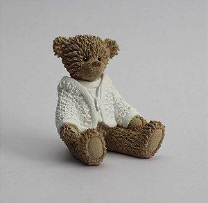 Ursinho de Resina - Branco