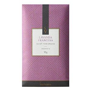 Sachê Perfumado Lavanda Francesa 10g Via Aroma