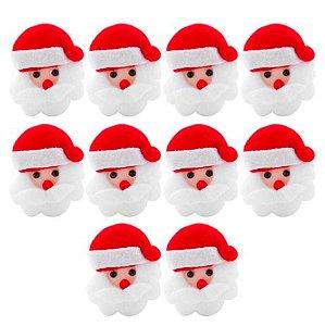 Aplique de feltro de Papai Noel
