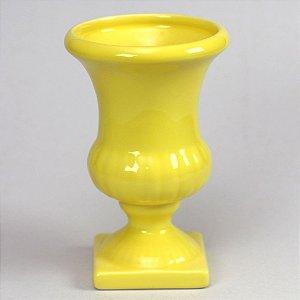 Vaso taça - amarelo