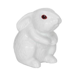 Coelho Delicado em Porcelana