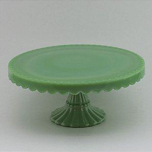 Boleira de vidro Verde