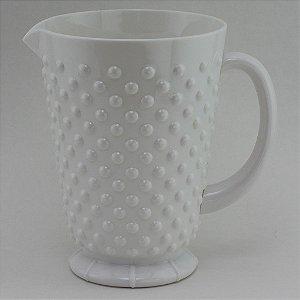 Jarra de plástico Branca