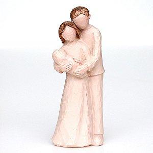 Estátua Família