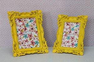 Porta-retrato Amarelo