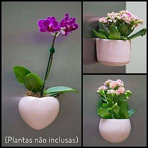 Kit Vasos Ímã - Rosa