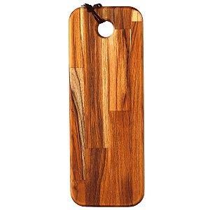 Tábua de madeira Teca longa 15x40cm
