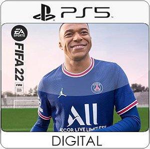 FIFA 22 PS5 Mídia Digital