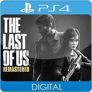 The Last Of Us Remastered PS4 Mídia Digital