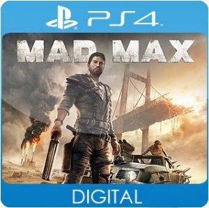 Mad Max PS4 Mídia Digital
