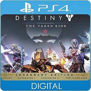 Destiny: The Taken King Legendary Edition PS4 Mídia Digital