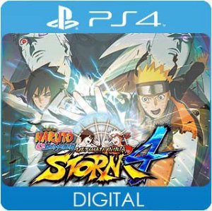 Naruto Shippuden: Ultimate Ninja Storm 4 PS4 Mídia Digital