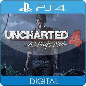 Uncharted 4: A Thief's End PS4 Mídia Digital