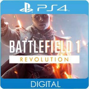 Battlefield 1 Revolution PS4 Mídia Digital