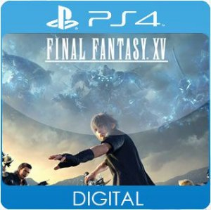 Final Fantasy XV PS4 Mídia Digital