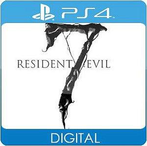 Resident Evil 7 biohazard PS4 Mídia Digital