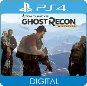 Tom Clancy's Ghost Recon Wildlands PS4 Mídia Digital