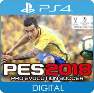 Pro Evolution Soccer 2018 PS4 Mídia Digital