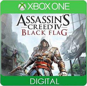 Assassins Creed IV Black Flag Xbox One Mídia Digital