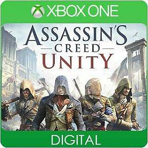 Assassins Creed Unity Xbox One Mídia Digital