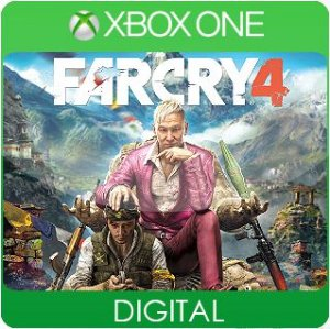 Far Cry 4 Xbox One Mídia Digital