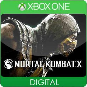 Mortal Kombat X Xbox One Mídia Digital