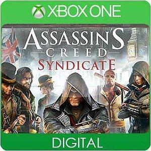 Assassins Creed Syndicate Xbox One Mídia Digital