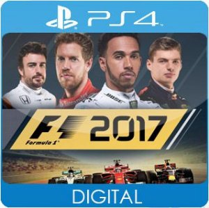 F1 2017 PS4 Mídia Digital