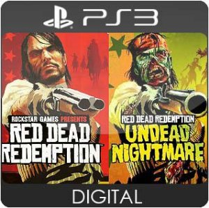 Red Dead Redemption and Undead Nightmare Collection PS3 Mídia Digital