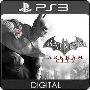 Batman: Arkham City Ultimate Edition PS3 Mídia Digital