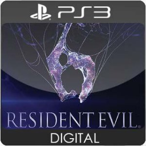 Resident Evil 6 PS3 Mídia Digital