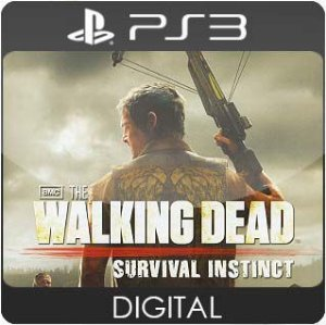 The Walking Dead: Survival Instinct PS3 Mídia Digital